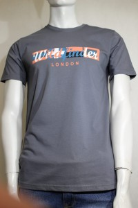 T-shirt męski wildfinder model 38 kolor 5 dark grey